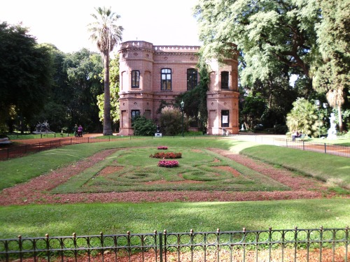 historic house in the jardin botanico, buenos aires